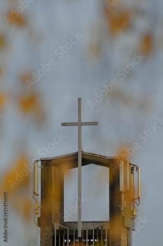 Fotografía Christian cross, crucifix, symbol of Jesus' death