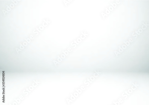 Fototapeta Empty gray studio room background. Used for display or montage your products obraz