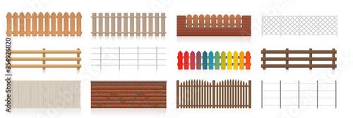 Tablou Canvas Different fences