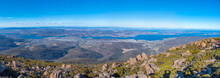 Aerial View Of Hobart From Mou...