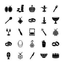 Treasure Glyph Icons