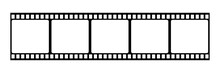 Film Strip Icon. Vector Isolat...