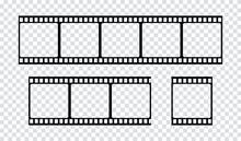 Film Strip Icon. Vector Isolat...