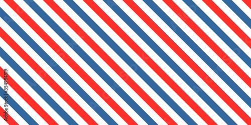 Fototapeta Barber colored liner background