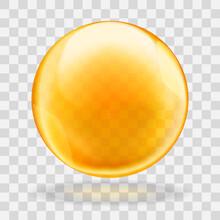 Golden Oil Translucent Bubble ...
