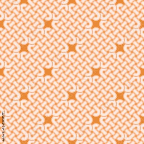 Fototapeta Seamless Celtic knot repeatable pattern