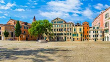 Beautiful Square With Traditio...