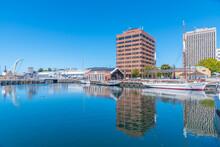 Franklin Wharf In Hobart, Australia