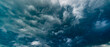 Leinwandbild Motiv dramatic stormy sky abstract background