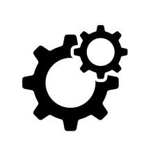 Gear Settings Icon Eps 10, Gea...