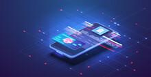 Online Banking App Landing Pag...