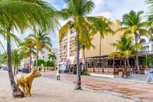Philipsburg, Sint Maarten. Hol...
