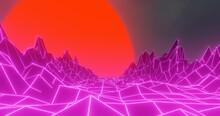 4K 3D Abstrakt Leuchtend Bunt ...