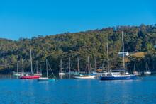 Boats At Marina In Kettering, Australia