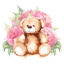 Cartoon Lovely Teddy Bear Toy ...