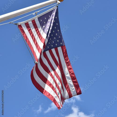 Valokuva Flag on pole