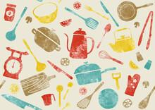キッチン パターン