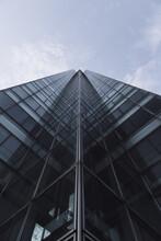 Low Angle View Of Skyscraper W...