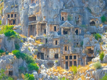 Lycian Rock Cut Tombs Carved I...