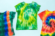 Set Of T-shirts Decorated In T...