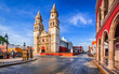 Campeche, Mexico - Independence Plaza, Yucatan sightseeing