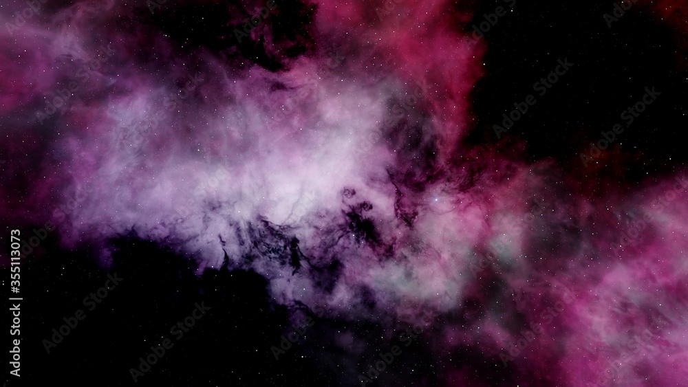 Fototapeta abstract cosmic background, planets in space, alien planet, exo planet, detailed planet surface 3d render