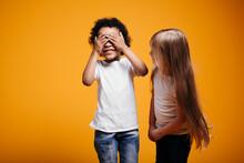 Long-haired Girl Child Checks ...