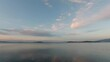 rain clouds gathered over island. High quality footage