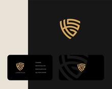 Letter H S G Logo Design With ...