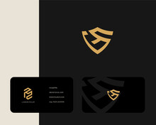Letter G N Logo Design With Bu...