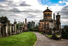 Glasgow Necropolis At Summer Daytime