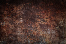 Abstract Of A Grunge Rusted Me...
