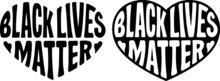 Black Lives Matter Vector Illustration, Sign. Protest Symbol, Human Rights, Black People.