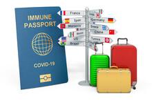 Travel With Immune Passport Co...