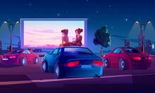 Outdoor Cinema, Drive-in Movie...