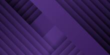 Simple 3D Purple Background. F...