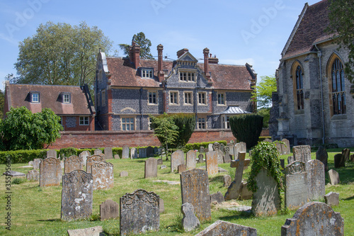 Photo Views of Marlow from All Saints Church, Buckinghamshire in the United Kingdom