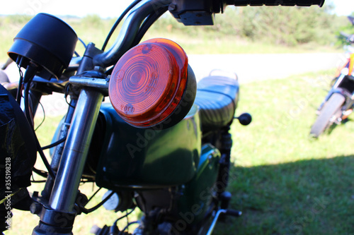 Blinker Simson Moped