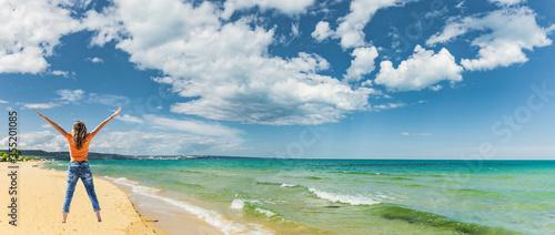Fototapeta Sandstrand bei Albena Beach, Bulgarien obraz