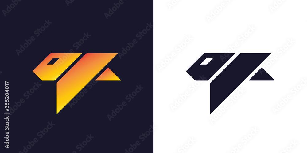 Fototapeta Tiger logo design