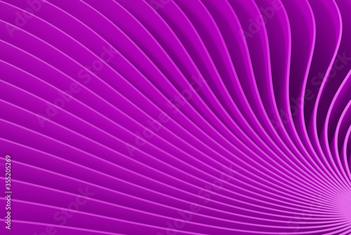 Fototapeta Purple background with abstract spiral geometry.