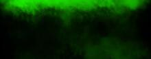 Panoramic Green Fog Mist Textu...