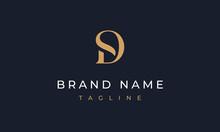 SD Logo Design Letter SD Logo Template SD Monogram