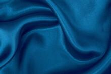 Dark Blue Fabric Cloth Texture...