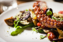 Warm Octopus Salad With Stir F...
