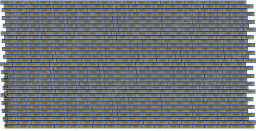 Obraz seamless pattern with blue stripes illustration vector background abstract - fototapety do salonu