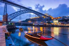 Dawn In Porto, Portugal: The O...