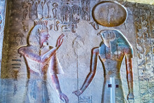 Burial Chamber With Colorful E...