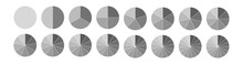 Fraction. Segmented Circles Se...