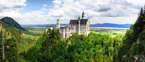 Neuschwanstein castle - Germany - Europe Fototapet